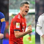 Ronaldo, Lewandowski ili Messi? Jedan od njih će biti nogometaš godine