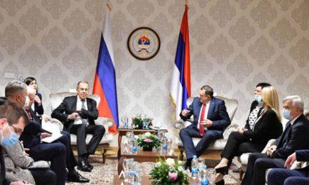 Lavrov u posjetu BiH: Hrvatski narod mora imati prava zajamčena Daytonskim sporazumom