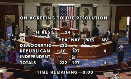 Zastupnički dom Kongresa izglasao Trumpov opoziv. Protiv njega bilo i 10 republikanaca