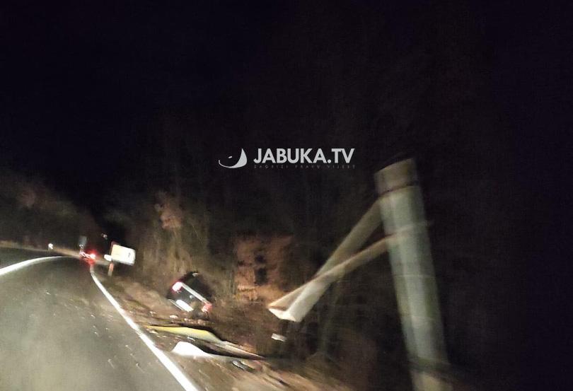 Široki Brijeg: Automobil sletio s ceste, ima ozlijeđenih