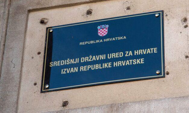 Središnji državni ured za Hrvate izvan RH raspisao javni poziv