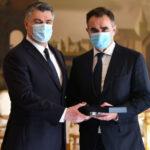Milanović uručio odlikovanja postrojbama HVO-a i Specijalne policije MUP-a HR HB