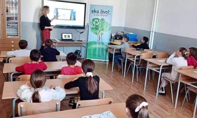 EKOLOŠKE EDUKACIJE U OŠ IVANA MAŽURANIĆA POSUŠJE!