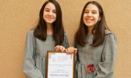 Ivani i Valentini Begić prva nagrada na temu pobijeni hercegovački franjevci