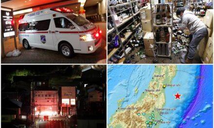 U potresu u Japanu ima ozlijeđenih, gotovo milijun kućanstava ostalo bez struje