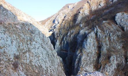 Staza kroz kanjon Brine namijenjena isključivo pješacima i biciklistima