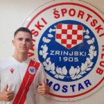 Posušanin postao najmlađi profesionalac u povijesti Zrinjskog