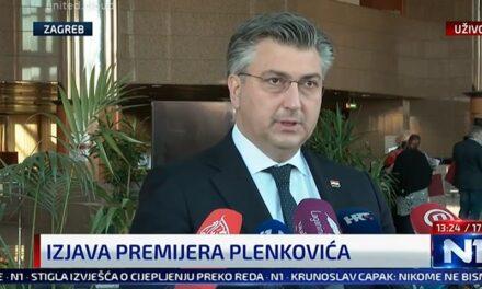 Plenković stao u obranu Hercegovaca