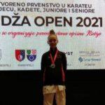 Ivana Čamber prva na 15. otvorenom prvenstvu u karateu na Ilidži