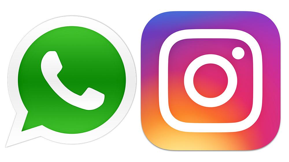 Pali Instagram i WhatsApp