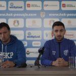 Trener Ćorić i napadač Begić uoči utakmice s Igmanom!