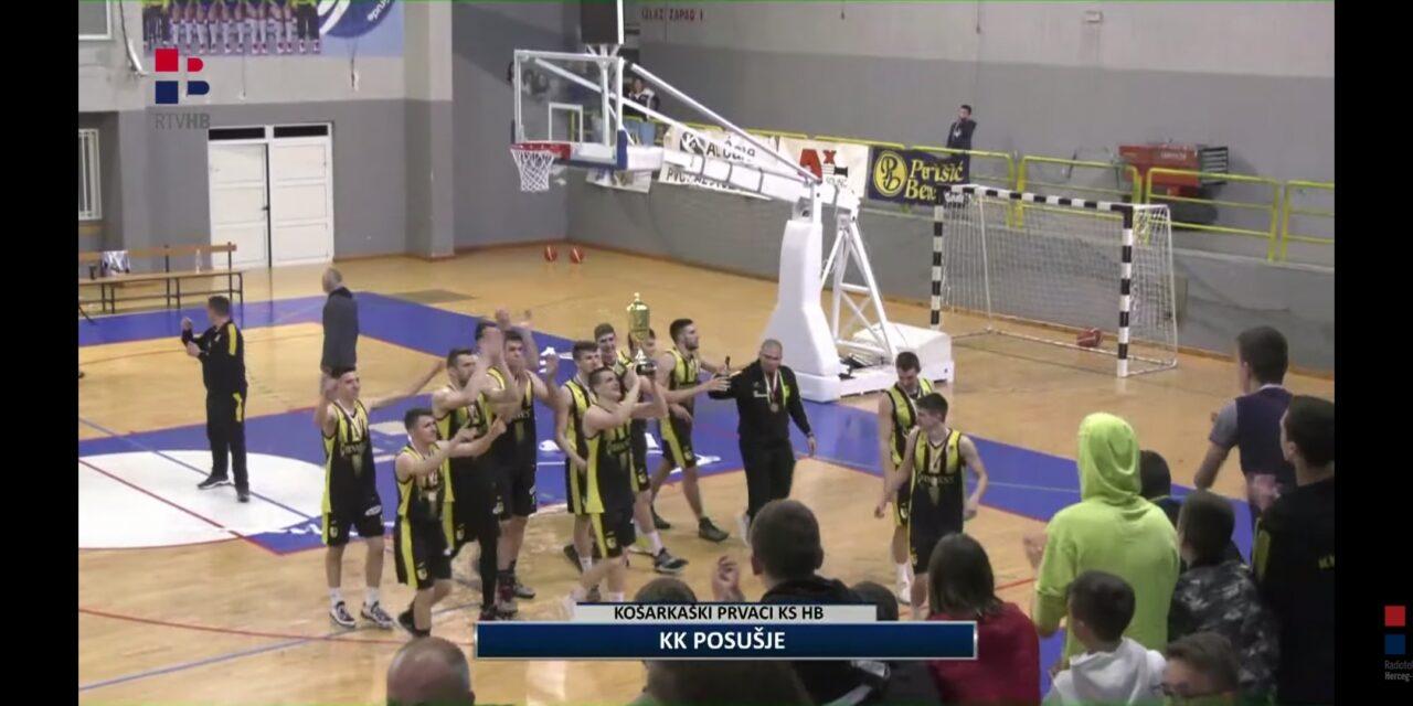 Košarkaši Posušja prvaci Herceg-Bosne!
