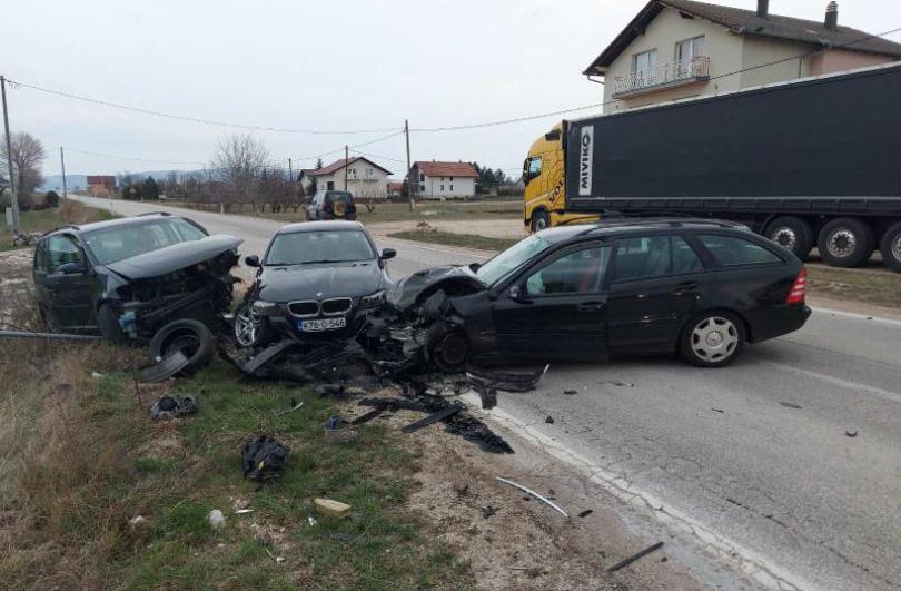 U sudaru četiri automobila ozlijeđene osobe iz Širokog Brijega, Posušja i Tomislavgrada