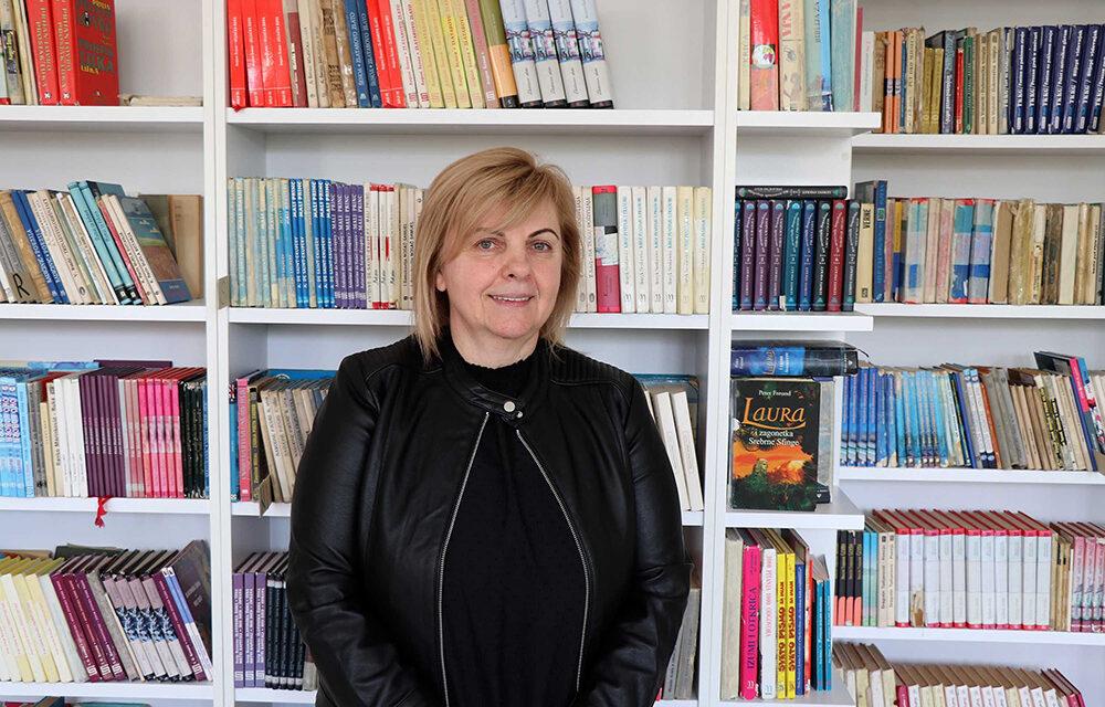 Zorica Marić: Stari prokušani lijek je knjiga