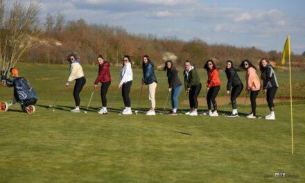 Odbojkašice SOK Mostar Na golf terenu u Posušju
