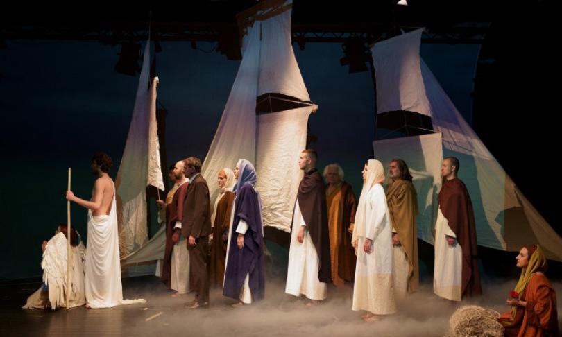 """U HNK Mostaru premijerno izvedena predstava """"Isus, Sin Čovječji"""""""