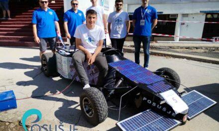SOlarni automobil iz POSUŠJA Osvojio prvo mjesto na natjecanju u Sisku