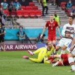 Ronaldo rekorder, Mađari pali u završnici