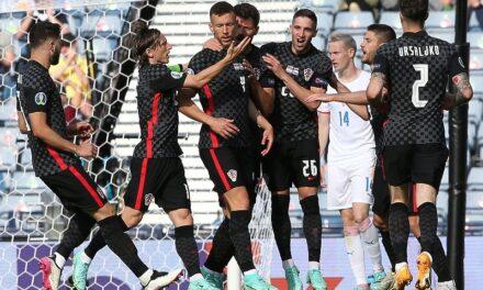 Hrvatska – Češka 1:1, Perišić golom ostavio nadu za prolazak dalje