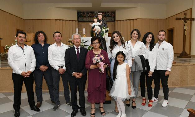 Dragica i Ante Bošnjak proslavili pedeset godina braka
