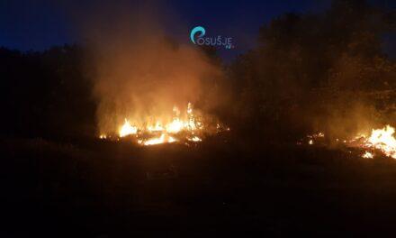 Požar u naselju Carski Gaj