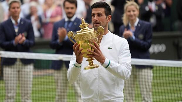 Đoković osvojio Wimbledon, izjednačio se s Nadalom i Federerom