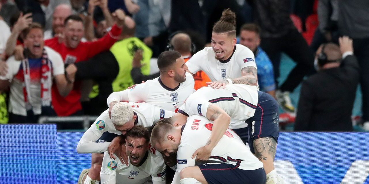 Engleska preko Danske Sumnjivim penalom u finale Eura