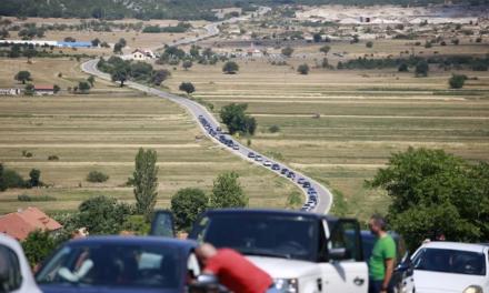 Ogromne gužve na graničnim prijelazima