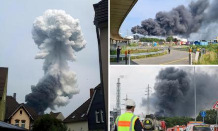 Eksplozija u Leverkusenu, širi se otrovni oblak. Najmanje jedna osoba poginula