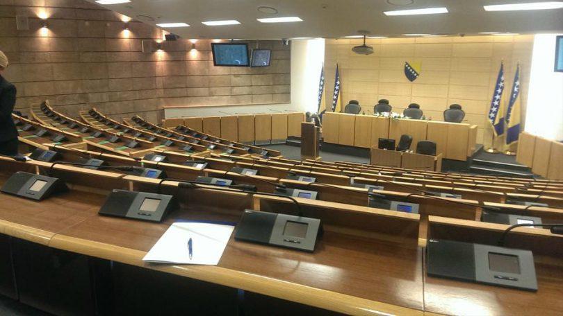 Otkazana sjednica Zastupničkog doma jer nisu došli zastupnici iz Republike Srpske