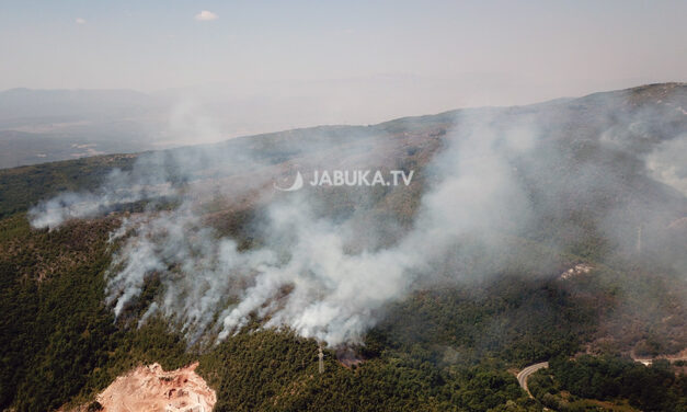 Požar u Podvraniću aktivan drugi dan, nepristupačan teren otežava posao vatrogascima