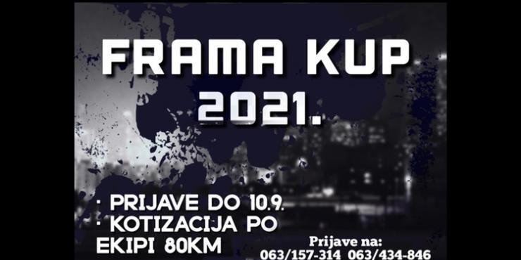 U Tijeku prijave za Frama Kup 2021.