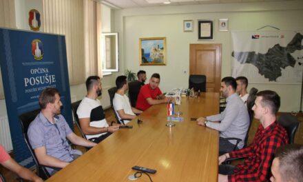Načelnik poželio Gracu puno uspjeha na završnici Lige Hercegovine