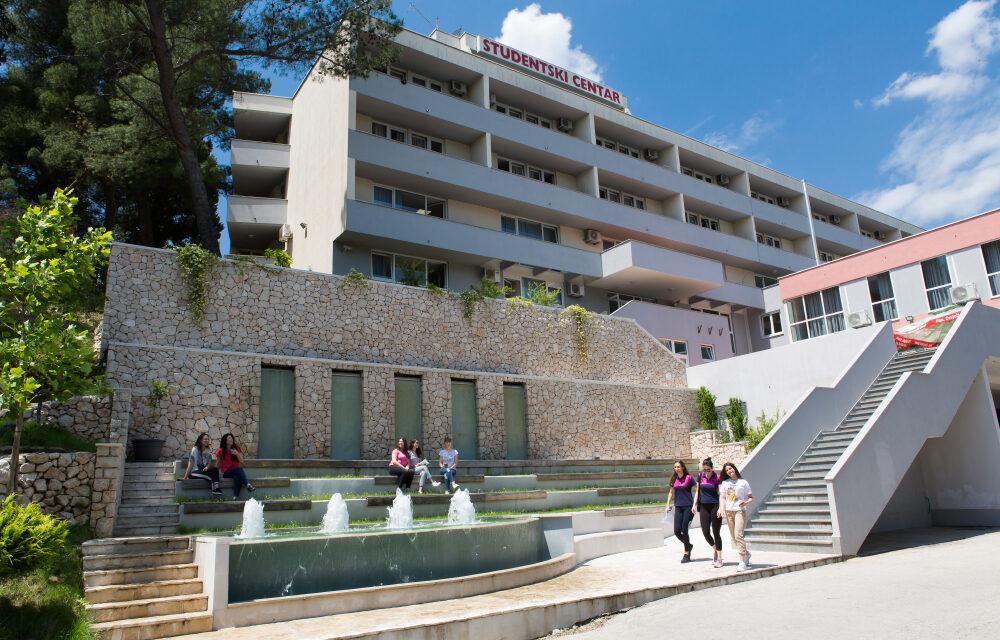 Raspisan natječaj za smještaj brucoša u Studentski centar Mostar