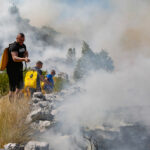 Kiša gasi višednevne požare u Hercegovini