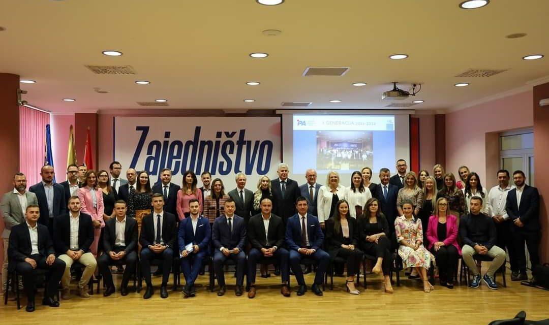 Održana promocija X. generacije Političke akademije HDZ-a BiH