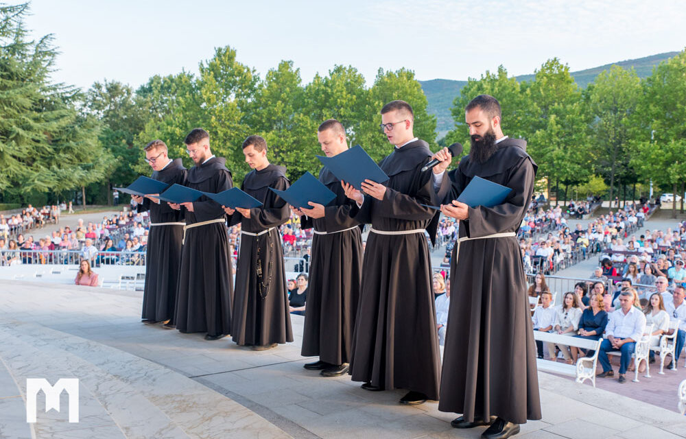 Šestorica hercegovačkih franjevaca položila svečane zavjete u Međugorju