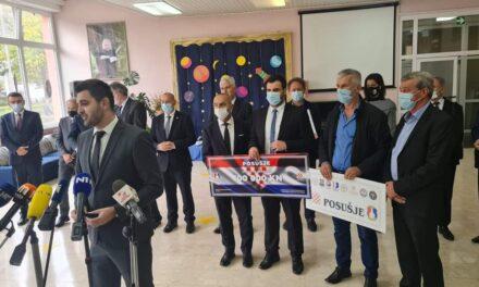 1.5 milijuna kuna za obnovu škole u Petrinji, Posušje doniralo još 100.000 Kuna!