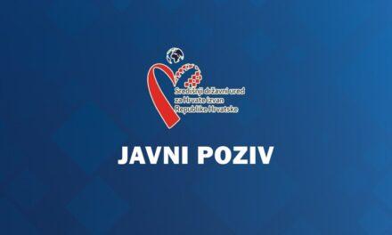 2. Javni poziv za prijavu posebnih potreba i projekata od interesa za Hrvate izvan Republike Hrvatske u svrhu ostvarenja financijske potpore za 2021. godinu