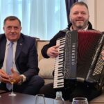"""Kakvi su odjeci """"koncerta"""" koji je Dodik s harmonikašem održao u Predsjedništvu BiH"""