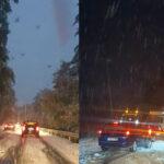 Snijeg stvorio brojne probleme vozačima na Kupresu
